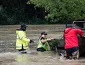 """بالصور.. الفيضانات تجتاح مدينة تشارلستون الأمريكية بسبب إعصار """"يواكين"""""""