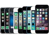 """فى ذكرى إطلاق iphone 4s.. 20 صورة ترصد تطور """"الآى فون"""".. 2007 إطلاق الهاتف الأول بمواصفات ثورية.. وiphone 3G بداية مفهوم """"السمارت فون"""".. يمنح """"أبل"""" تاريخًا حافلا بالنجاح والتفوق على الشركات المنافسة"""