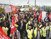 """نقابات """"إير فرانس"""" تدعو للإضراب مجددا فى 23 مارس للمطالبة بزيادة الرواتب"""