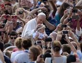 بالصور.. اللقاء الأسبوعى لبابا الفاتيكان فى ساحة القديس بطرس