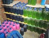 ضبط مصنع صابون بدون ترخيص بالقليوبية به 7 أطنان منتج مجهولة المصدر