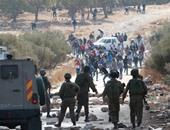 إصابة 7 فلسطينيين فى مواجهات مع جيش الاحتلال الإسرائيلى فى بيت لحم