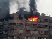 الحماية المدنية بالجيزة تسيطر على حريق شقة سكنية بالحوامدية دون إصابات
