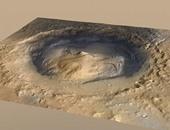 بالصور.. ناسا تعثر على بحيرة عملاقة على سطح المريخ