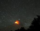 """رويترز تختار صورة بركان """" فيلايشا"""" فى شيلى أفضل لقطات اليوم"""