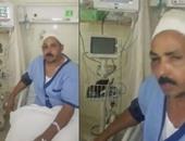 صحافة المواطن: بالفيديو والصور.. الاعتداء على عامل مصرى بالكويت