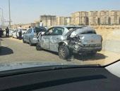 إصابة 3 أشخاص فى حادث سير بسيناء