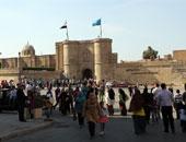 الآثار: الشرطة تحبط محاولة سرقة 5 أشخاص لسور القلعة الحديدى