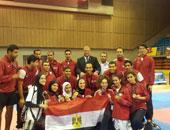 مصر تحصد 14 ميدالية فى ثانى أيام بطولة العالم الشاطئية للتايكوندو