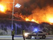 حريق فى قاعدة عسكرية جنوب تل أبيب وإصابة 8 جنود إسرائيليين