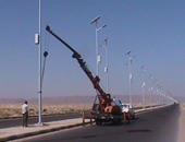 حى العجمى يتابع تركيب 485 عامود إضاءة وتشغيل 270 كشافا فى الإسكندرية