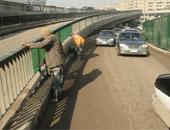 """""""المرور"""" تعيد فتح كوبرى فيصل بعد انتهاء أعمال الإصلاحات"""