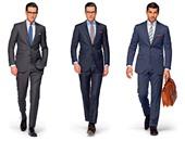 """بالصور.. أهم مواصفات """"البدلة"""" المناسبة لمقابلة العمل الأولى.. التزم بالألوان الأساسية الداكنة وابتعد عن الإكسسوارات.. اختر """"القميص"""" الأبيض.. وارتدِ الأحذية الجلدية طويلة المقدمة مع الجوارب """"السادة"""""""
