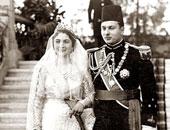 بعد عقد قران حفيدته.. كيف احتفل الملك فاروق بزفافه على الملكة فريدة؟ (صور)
