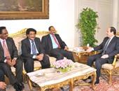 سفير الخرطوم: السيسى أكد التزام مصر بتطوير العلاقات مع السودان