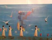 صالون الأهرام للفنون التشكيلية يمد عرضه حتى نهايةنوفمبر  بسبب الإقبال
