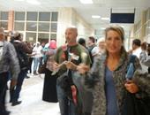 بالصور.. مطار أسوان الدولى يستقبل 871 ألمانيا بعد قرار رفع حظر السفر
