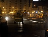 """بالصور.. قوات الجيش والشرطة تغلق محيط""""التحرير"""" و""""النهضة"""" استعدادا لـ""""28 نوفمبر"""""""
