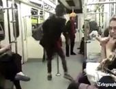 بالفيديو.. إيرانية تتحدى قوانين الجمهورية الإسلامية بالرقص داخل المترو