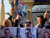 أبناء مبارك يتوجهون إلى مستشفى المعادى للاحتفال معه بالبراءة