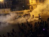 """""""تيار الشراكة"""" ينتقد التعامل الأمنى مع المتظاهرين بعد براءة مبارك"""