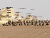 الجيش يقتل 23 إرهابيا فى ضربات جوية بشمال سيناء