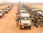 قوات الأمن تدمر مخزن قطع غيار سيارات تابع  لإرهابيين بسيناء