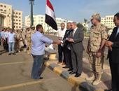 ختام فعاليات الدورة الأولى لطلاب التربية العسكرية بجامعة كفر الشيخ