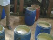 ضبط مصنع غير مرخص ينتج الطحينة والعسل من مواد مجهولة المصدر بالشرابية