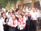 عودة 12 طالبا مشتبه فى إصابتهم بالحصبة لمدرسة سلوا الابتدائية بأسوان