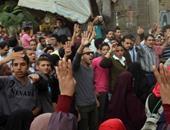 انطلاق مسيرة الإخوان من أمام مسجد الرحمن بالمطرية