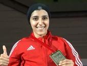 جيانا فاروق تضمن الميدالية الثالثة لمصر ببطولة العالم للكاراتيه