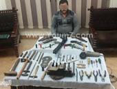 أمن الشرقية يضبط ورشة لتصنيع الأسلحة النارية بأبوكبير