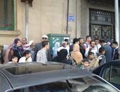 مظاهرة لعاملى الصرف المغطى بالجيزة ضد خصم الحد الأدنى للأجور من رواتبهم