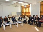 محافظ قنا يلتقى بعثة البنك الدولى لبرنامج التنمية المحلية فى صعيد مصر