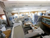 7 صور لليوم الثالث لمعرض دبى للطائرات 2015.. إيرباص A380 تبهر الزوار