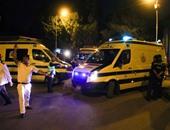 """""""الإسعاف"""": تمركز 6 سيارات بمحيط حريق العتبة بعد تجدد اشتعال النيران"""