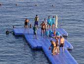 السياح الروس يتوافدون على شرم الشيخ للاستمتاع بمدينة السلام
