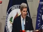 جون كيرى: مفاوضات مباشرة بين النظام السورى والمعارضة فى يناير المقبل