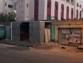 صحافة المواطن.. بالصور.. إزالة الأكشاك المخالفة بمحيط مستشفى أم المصريين