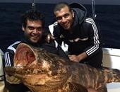 """يارا تستعيد ذكرى """"قنبلة"""" متعب مع الجزائر بـ""""سمكة"""" حجم عائلى"""