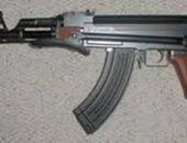 حبس خفير ضبط بحوزته بندقية آلية وذخيرة بأكتوبر