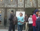 """بالصور..  تزايد أعداد المشاركين فى انتخابات اتحاد طلاب """"صيدلة طنطا"""""""