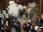 سجن برلمانى معارض و3 آخرين على خلفية مهاجمة مبنى البرلمان فى كوسوفو