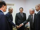 وفد من أعضاء البرلمان يزور سفارة لبنان لتقديم التعازى فى ضحايا الإرهاب