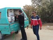 ضبط طفل يقود سيارة دفع رباعى محملة بـ25 ألف علبة سجائر مهربة بسيوة