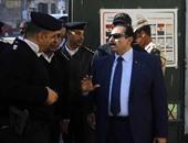 بالصور.. مدير أمن الإسماعيلية يتفقد تأمين اللجان الانتخابية بالمحافظة