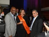 ليلى علوى: سعيدة بانضمامى لحملة اليونسكو وأطالب العالم بالوقوف أمام الإرهاب