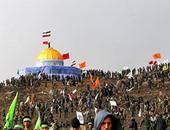 """بالصور.. إيران تجرى مناورات لتحرير الأقصى بجوار ماكيت """"قبة الصخرة"""""""