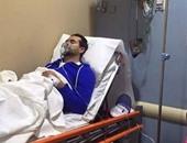 بأوامر الأطباء.. احتجاز سامو زين فى المستشفى بسبب وعكة صحية